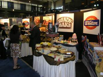 Weston Foods' booth was well attended